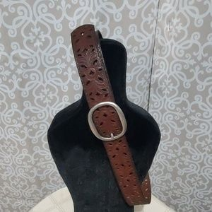 FOSSIL Leather Belt Size M